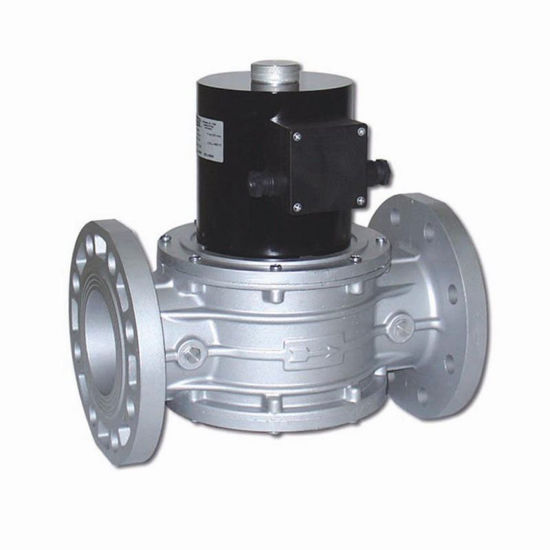 """Picture of 2 1/2"""" Gas Valve Auto Reset Flanged"""